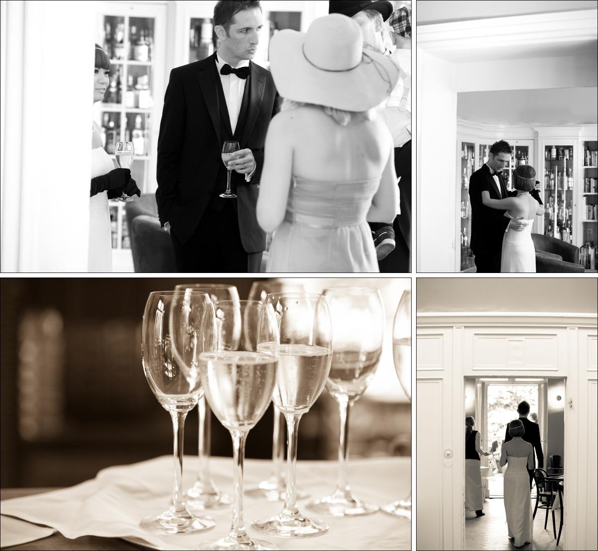 Hochzeitsfeier Cafe Einstein Stammhaus Berlin