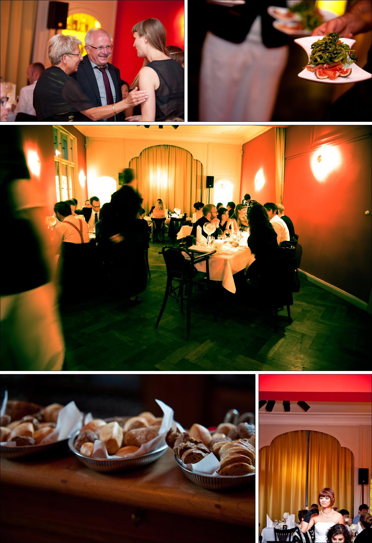 Hochzeitsfeier im Cafe Einstein Stammhaus Berlin Hochzeitsfotograf Berlin