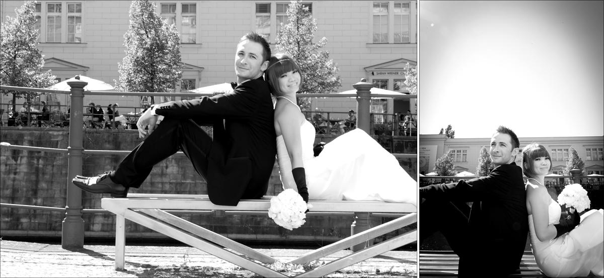 Hochzeitsfotografie Berlin Hamburger Bahnhof Hochzeitsfotograf Berlin